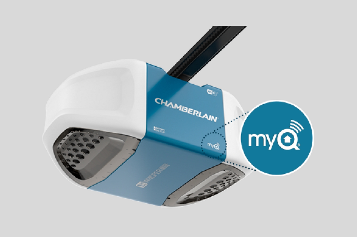 How To Install A Chamberlain Wi-Fi Garage Door Opener
